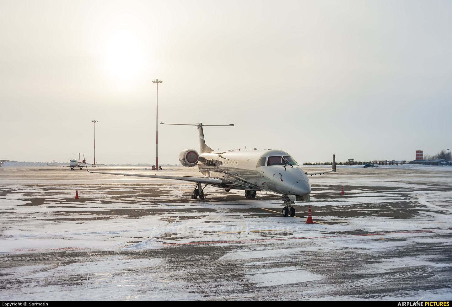 Private RA-02857 aircraft at Kazan