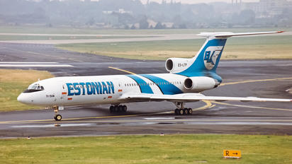 ES-LTP - ELK-Estonian Airways   Tupolev Tu-154M