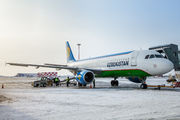 UK32019 - Uzbekistan Airways Airbus A320 aircraft