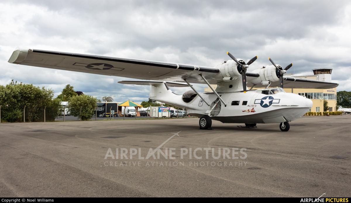 Catalina Aircraft G-PBYA aircraft at Weston