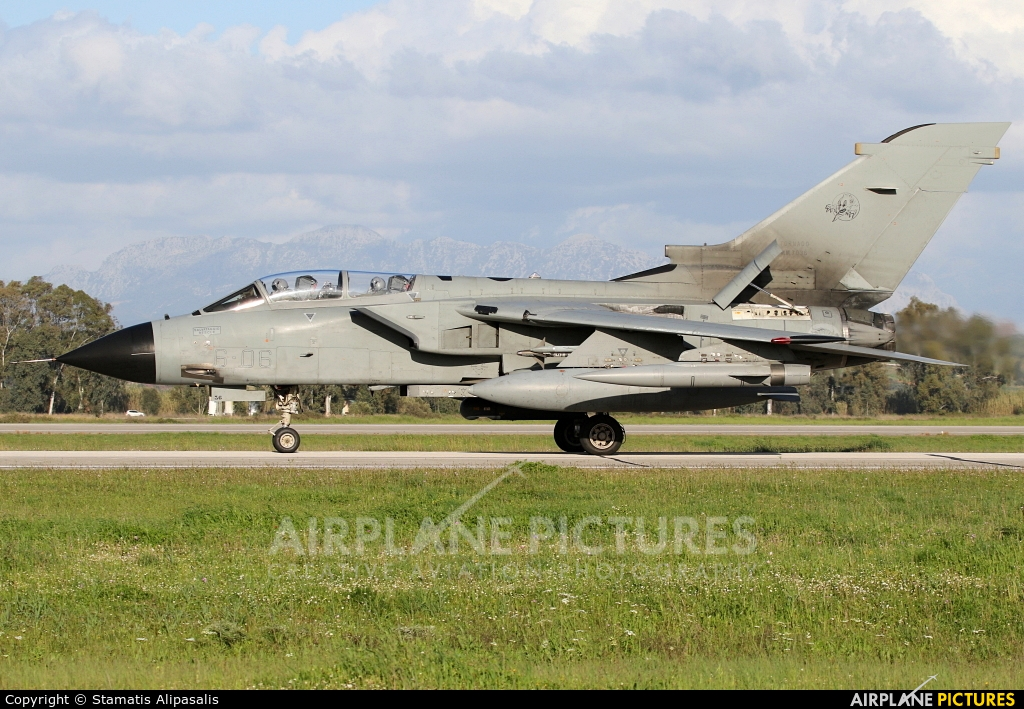 Italy - Air Force MM7036 aircraft at Andravida AB