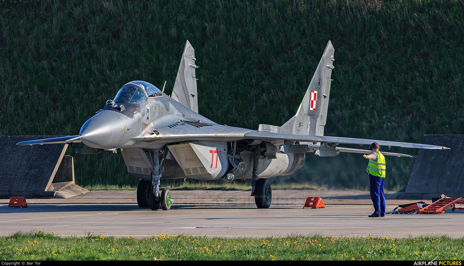 Poland - Air Force 77 aircraft at Mirosławiec