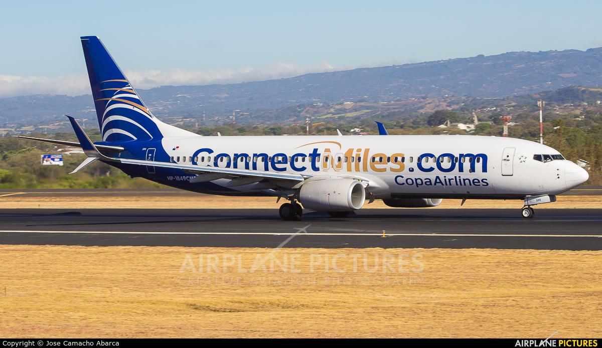 Copa Airlines HP-1849CMP aircraft at San Jose - Juan Santamaría Intl