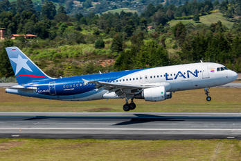 CC-BAQ - LAN Colombia Airbus A320