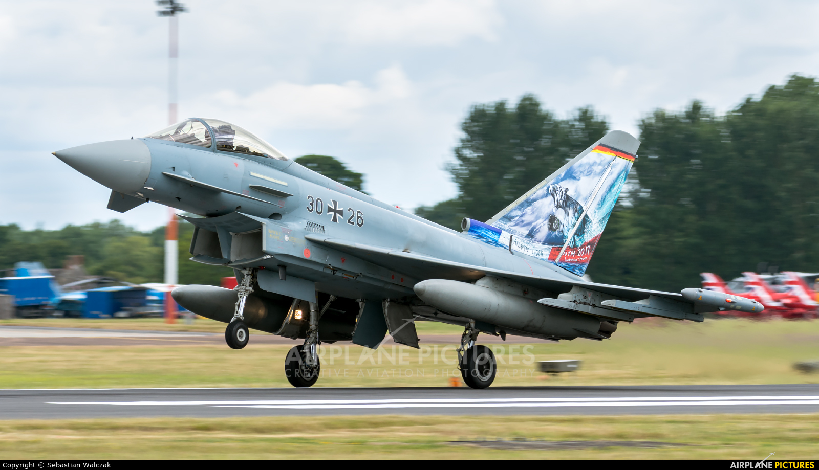 Germany - Air Force 30+26 aircraft at Fairford