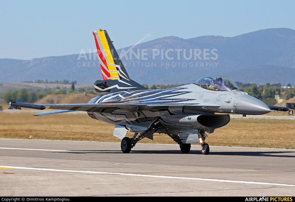 Belgium - Air Force FA-123 aircraft at Tanagra