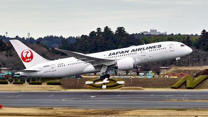 JA836J - JAL - Japan Airlines Boeing 787-8 Dreamliner