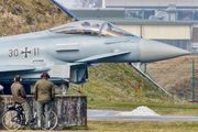 30+11 - Germany - Air Force Eurofighter Typhoon S aircraft