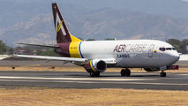 Aer Caribe B734 visited San Jose title=