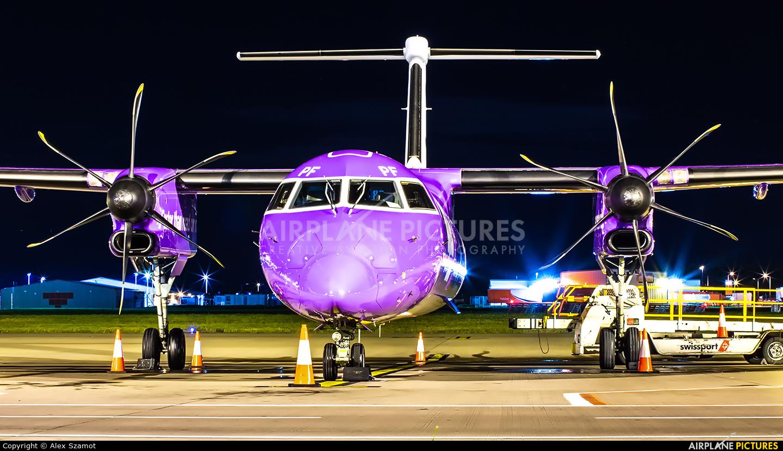 Flybe G-PRPF aircraft at Edinburgh