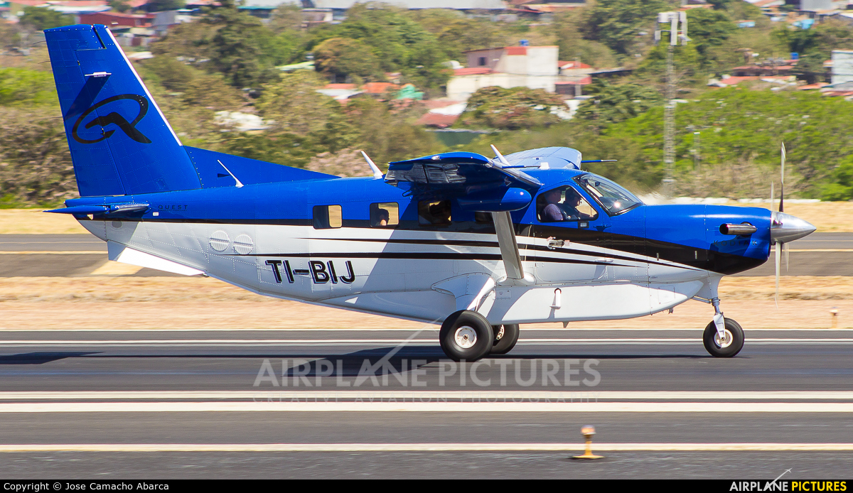 Private TI-BJI aircraft at San Jose - Juan Santamaría Intl