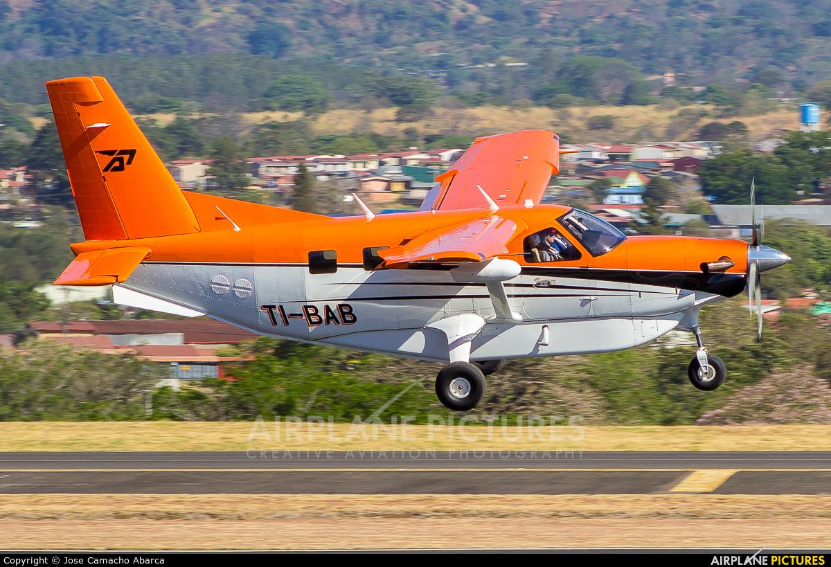 Private TI-BAB aircraft at San Jose - Juan Santamaría Intl