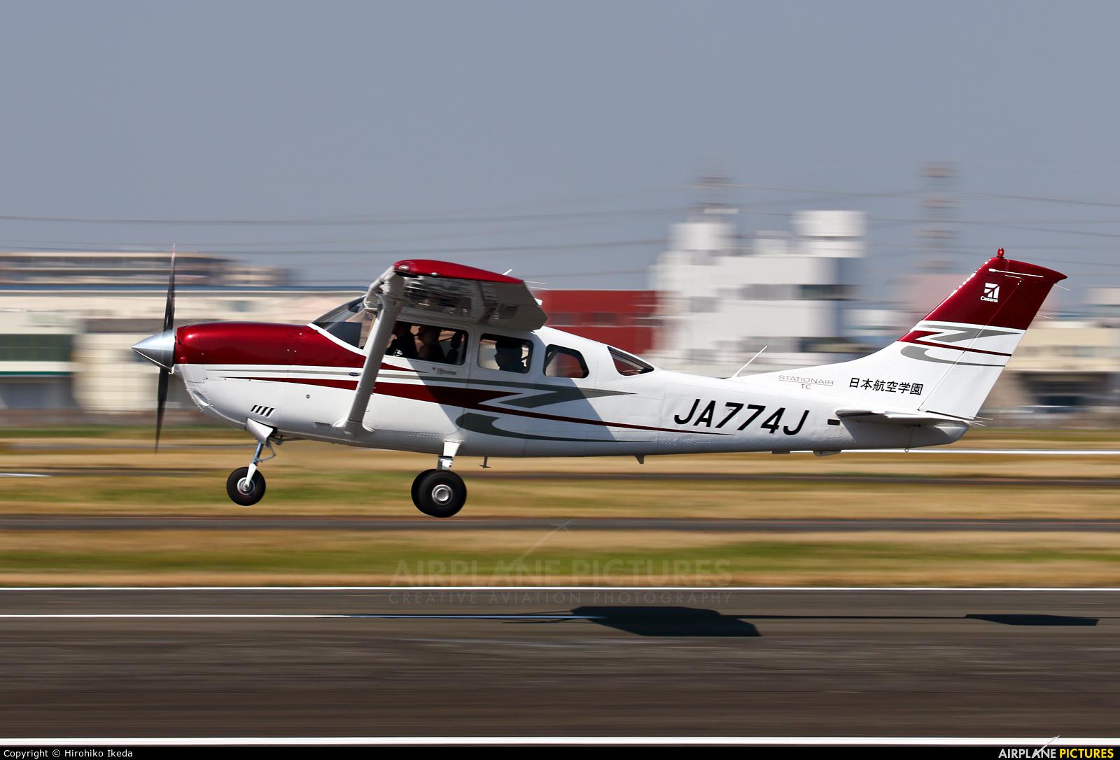 JA774J aircraft at Yao