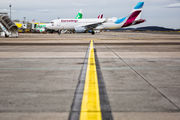 D-AEWK - Eurowings Airbus A320 aircraft