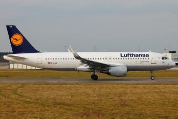 D-AIUR - Lufthansa Airbus A320