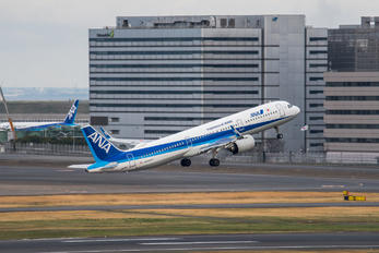 JA131A - ANA - All Nippon Airways Airbus A321 NEO