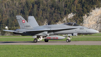 J-5023 - Switzerland - Air Force McDonnell Douglas F/A-18C Hornet