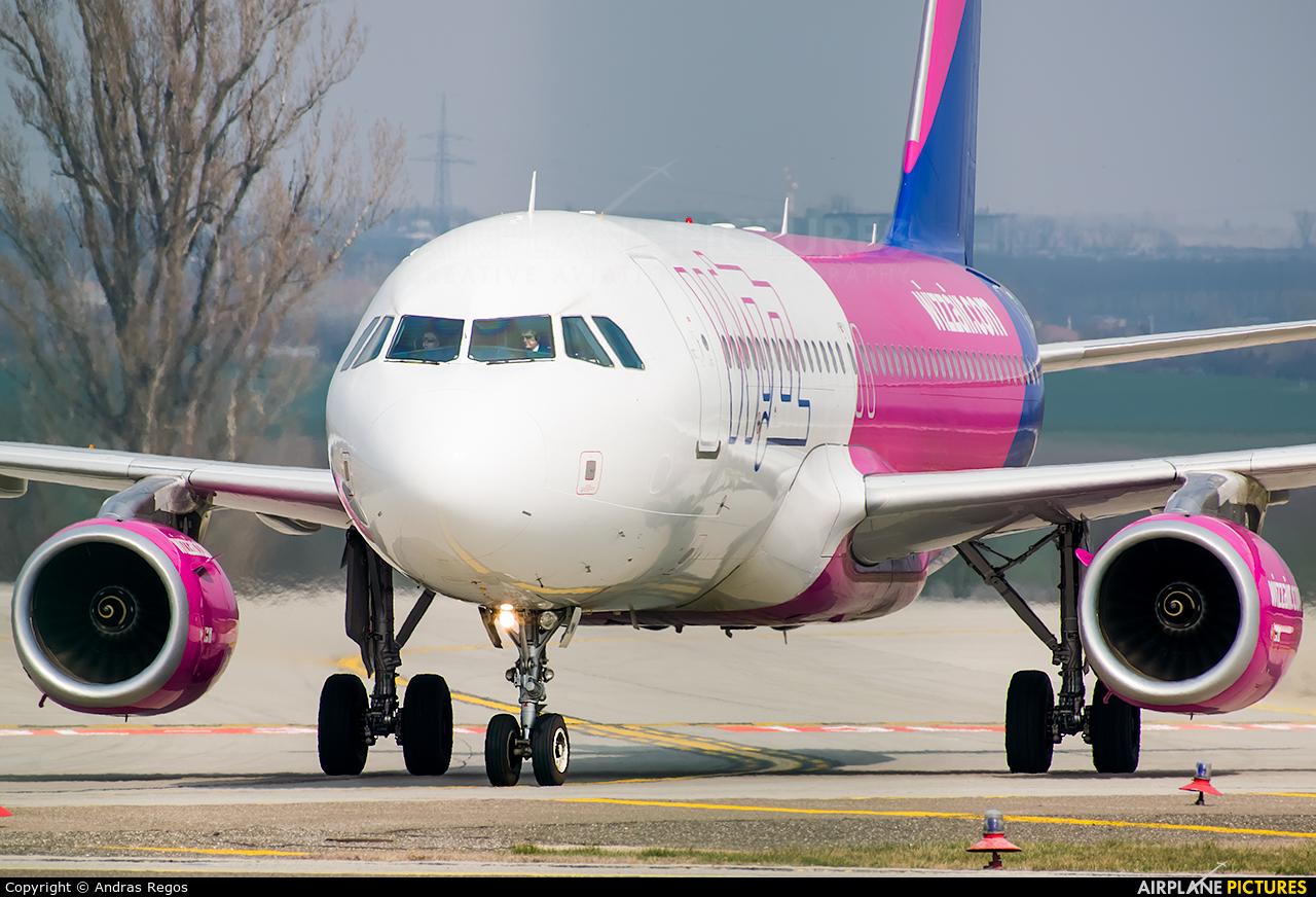 Wizz Air HA-LYW aircraft at Budapest Ferenc Liszt International Airport