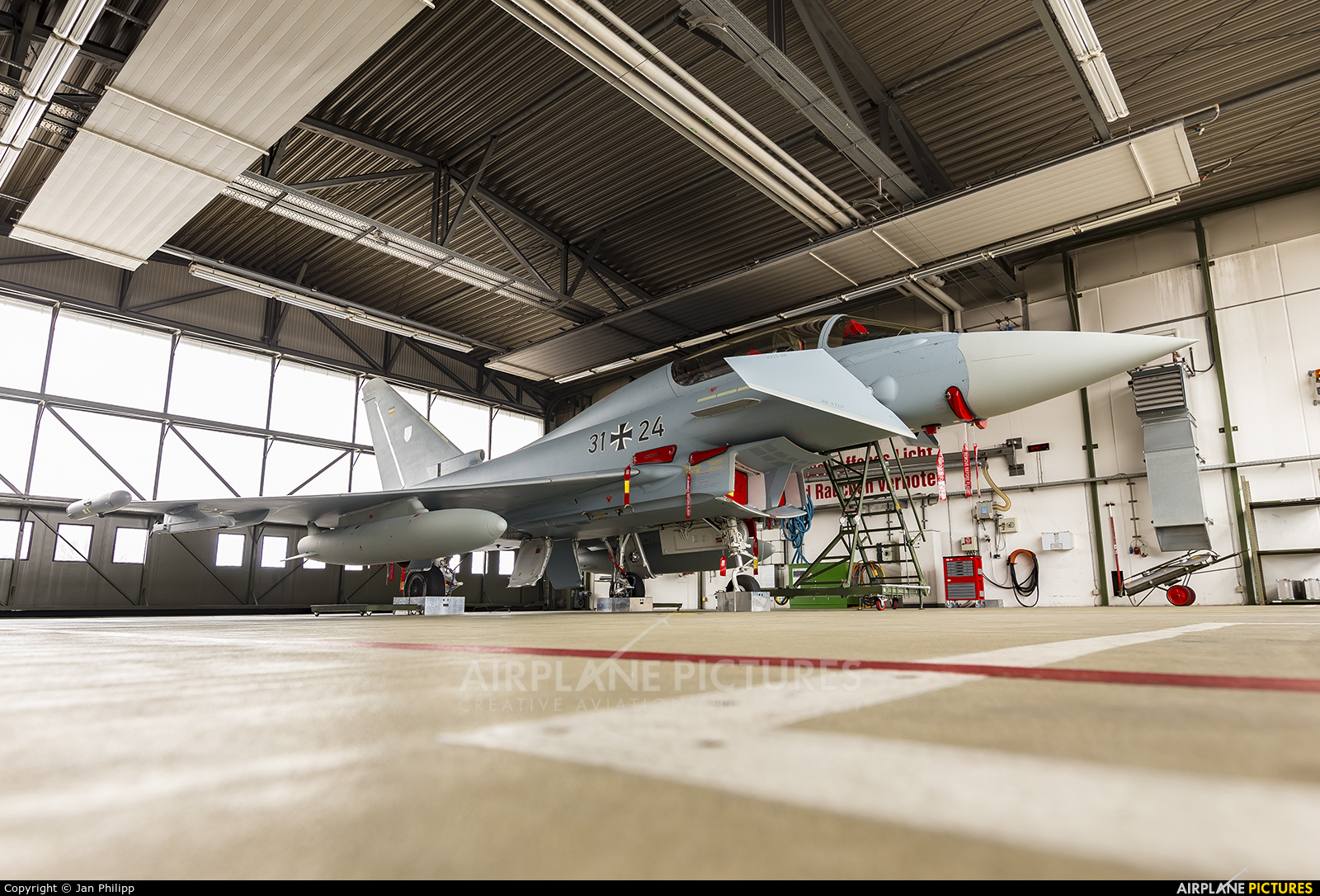 Germany - Air Force 31+24 aircraft at Rostock - Laage