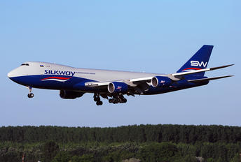 VQ-BVB - Silk Way Airlines Boeing 747-8F