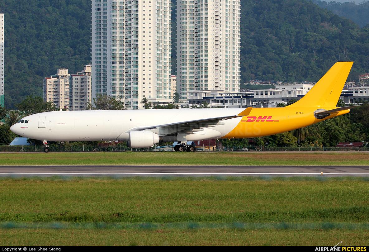 Air Hong Kong EI-HEA aircraft at Penang Intl