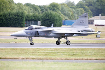215 - Sweden - Air Force SAAB JAS 39C Gripen