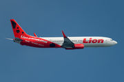 Special livery of Lion Airlines B739 title=
