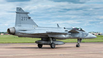 277 - Sweden - Air Force SAAB JAS 39C Gripen aircraft