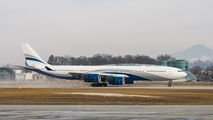 Rare visit of HiFly Airbus A345 to Salzburg title=