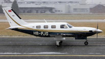 HB-PJG - Private Piper PA-46 Malibu Meridian / Jetprop DLX