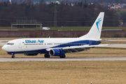 YR-BMF - Blue Air Boeing 737-800 aircraft