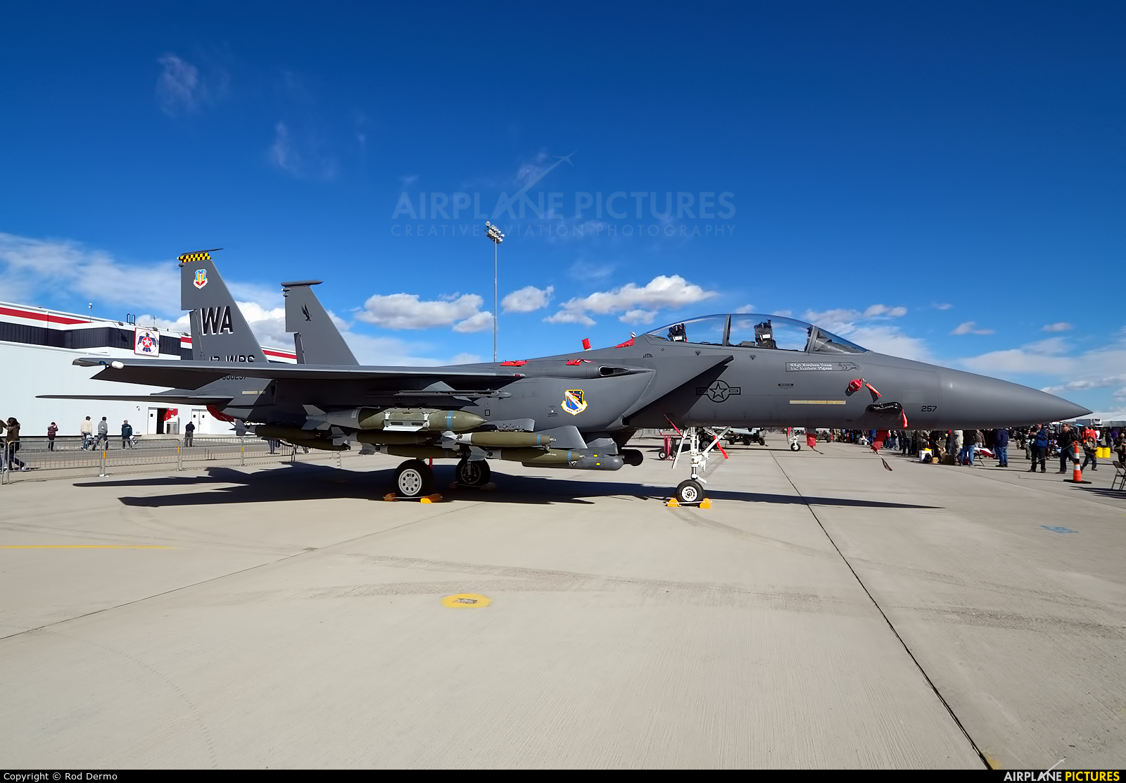 USA - Air Force 90-0257 aircraft at Nellis AFB