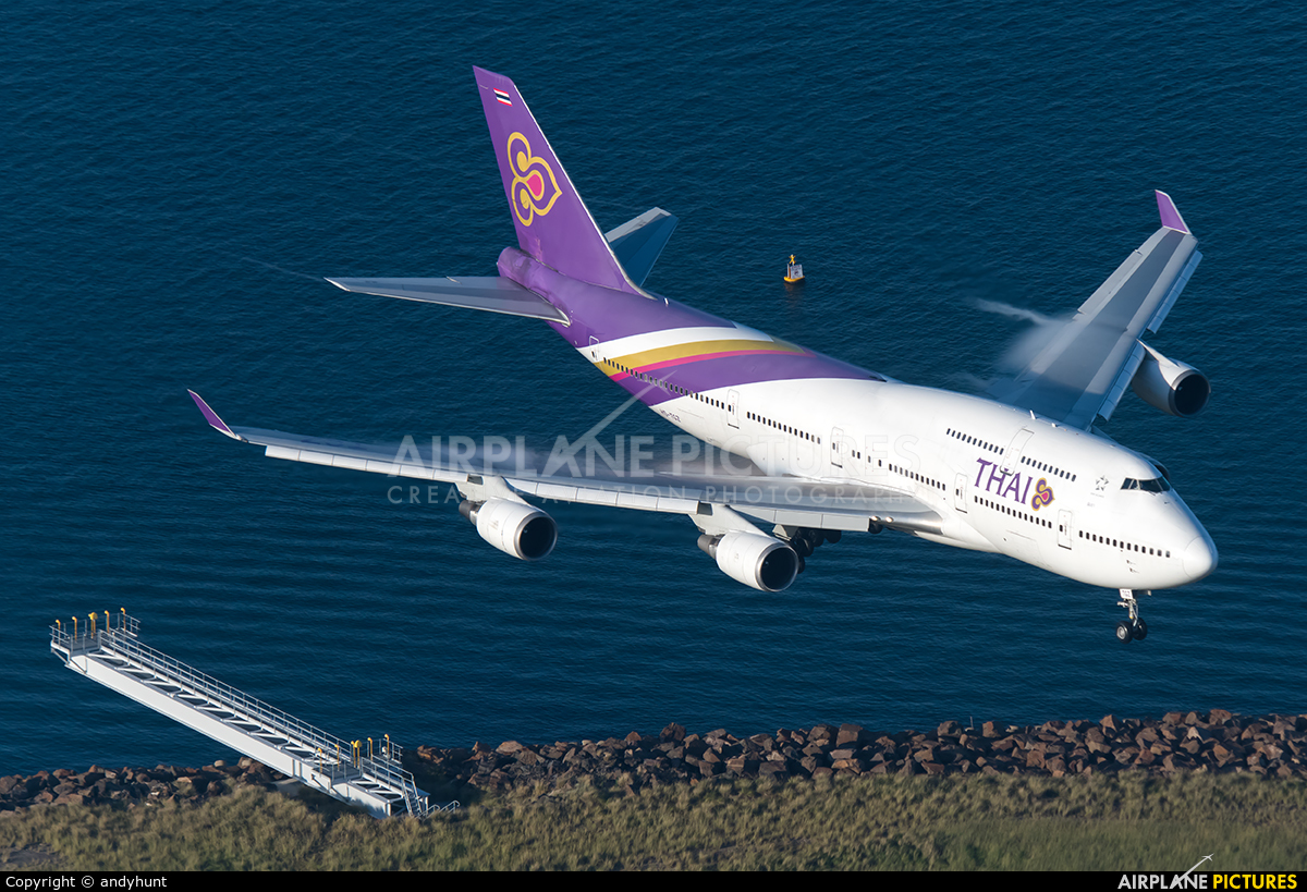 Thai Airways HS-TGZ aircraft at Sydney - Kingsford Smith Intl, NSW