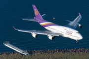 HS-TGZ - Thai Airways Boeing 747-400 aircraft