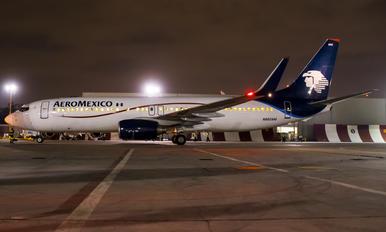 N860AM - Aeromexico Boeing 737-800