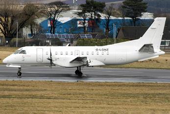G-LGNZ - Loganair SAAB 340