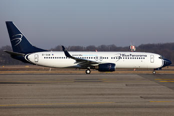 EI-GAW - Blue Panorama Airlines Boeing 737-800
