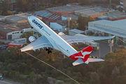 VH-EBS - QANTAS Airbus A330-200 aircraft