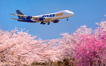 N855GT - Atlas Air Boeing 747-8F