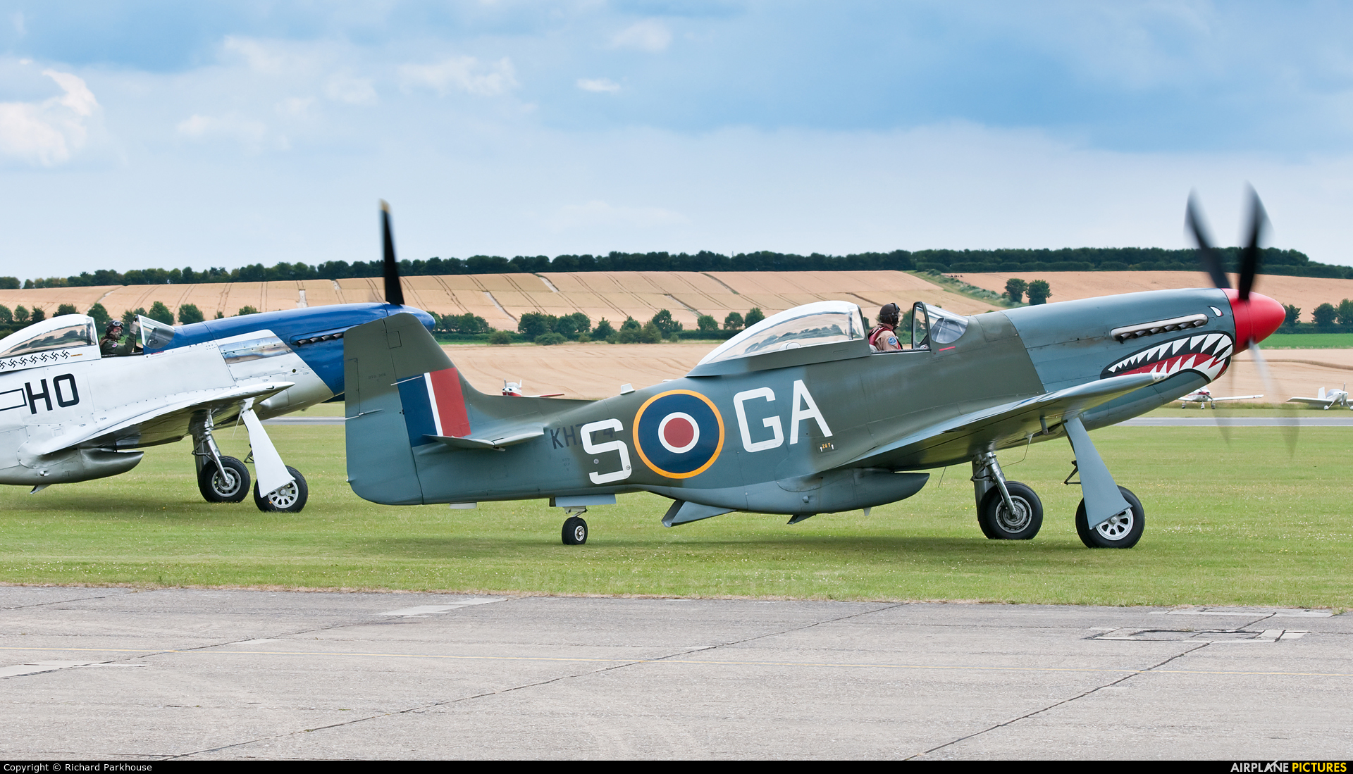 Private G-SHWN aircraft at Duxford