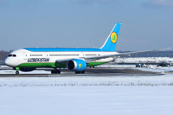 UK-78701 - Uzbekistan Airways Boeing 787-8 Dreamliner