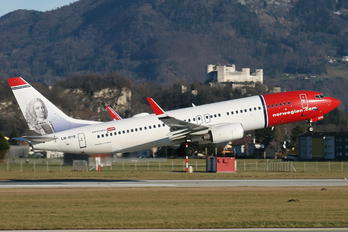 LN-DYE - Norwegian Air Shuttle Boeing 737-800
