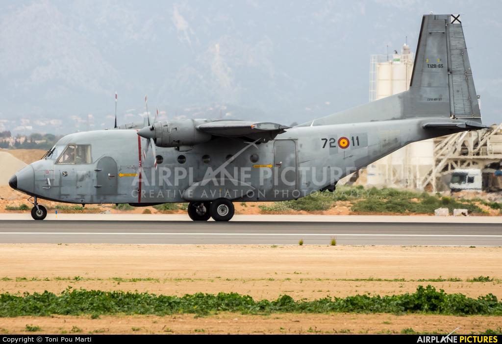 Spain - Air Force T.12B-65 aircraft at Palma de Mallorca