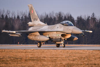 4054 - Poland - Air Force Lockheed Martin F-16C block 52+ Jastrząb
