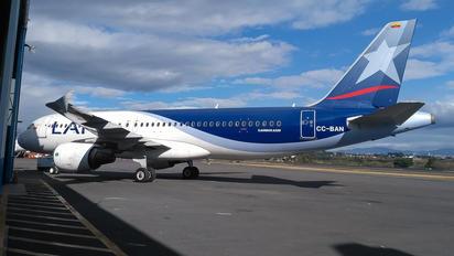 CC-BAN - LAN Airlines Airbus A320