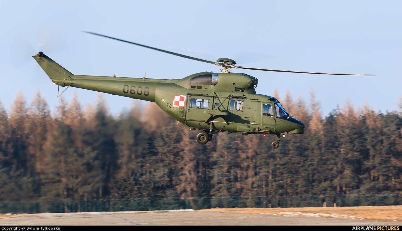 Poland - Army 0608 aircraft at Tomaszów Mazowiecki