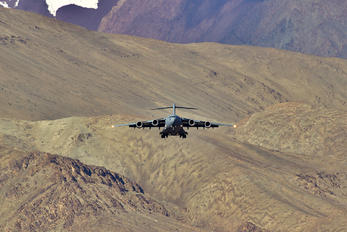 - - India - Air Force Boeing C-17A Globemaster III