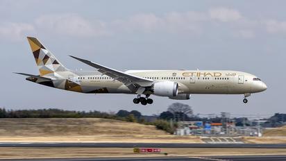 A6-BLE - Etihad Airways Boeing 787-9 Dreamliner