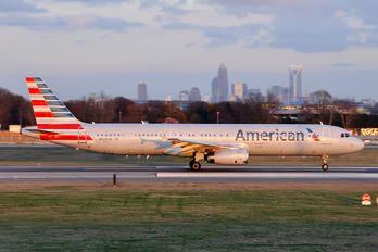 N539UW - American Airlines Airbus A321