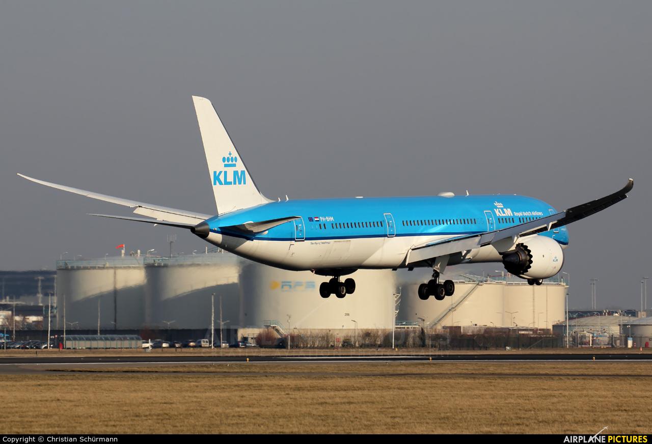 KLM PH-BHM aircraft at Amsterdam - Schiphol